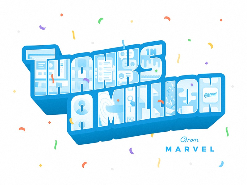 Marvel: Thanks A Million
