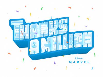 Marvel: Thanks A Million