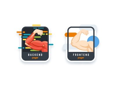 Pager: Backend & Frontend team