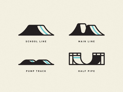 Dirt Jump Park Iconography