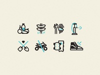 Dirt Jump Iconography
