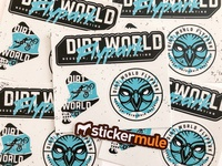 DWFP Stickers by Sticker Mule