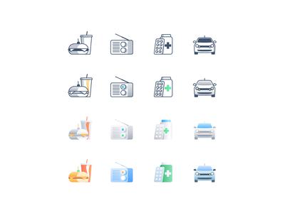 Iconography style exploration