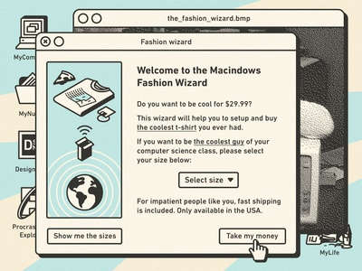 Macindows: The Fashion Wizard | Burgersoft®