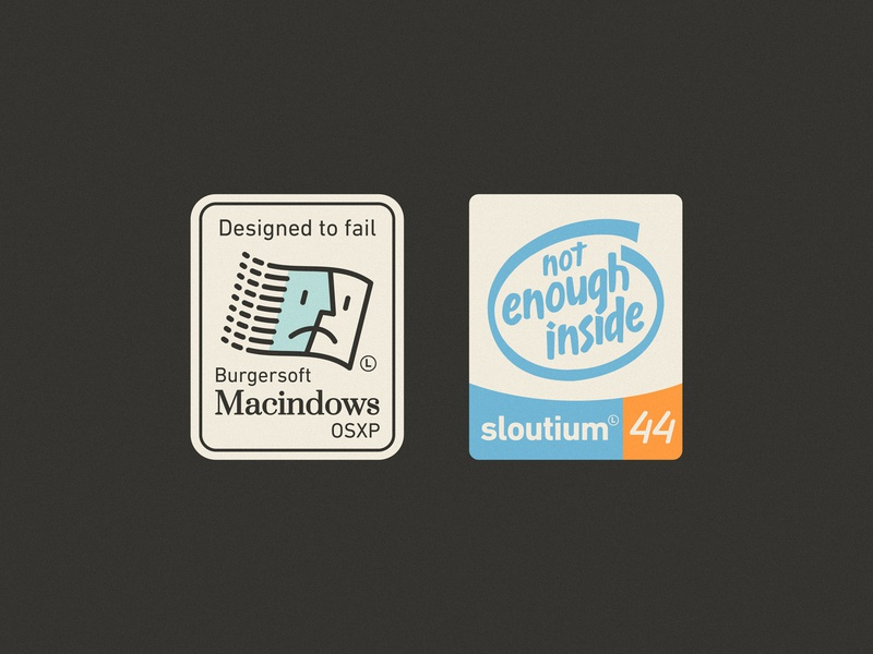 Laptop Stickers so system operative brand inside funny finder vintage retro laptop windows mac macintosh sticker intel