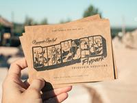 Dirt World Flypark Postcard