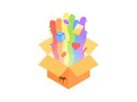 Rainbow Unboxing