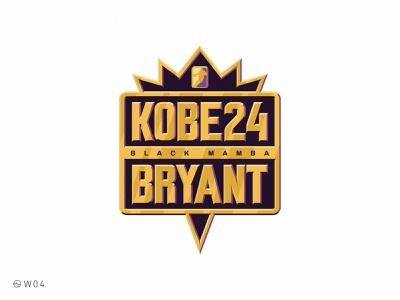 W04 - Kobe Bryant mamba black videogames gamer retro jam california los angeles la lakers gold badge sport basketball basket nba bryant kobe