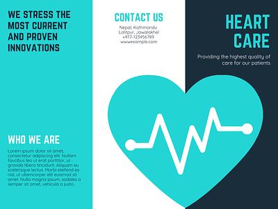 Hospital Brouchre Example pg 1 website illustrator graphic design art icon vector logo illustration design branding