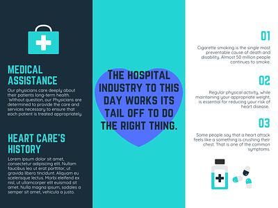 Hospital Brouchre Example pg 2 illustrator graphic design art icon vector logo illustration design branding
