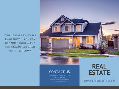 Real estate brouchre Example 1  pg 1 illustrator graphic design art icon vector logo illustration design branding