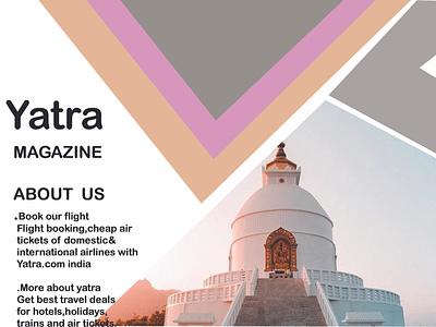 Travel Magazine Example illustrator graphic design art icon vector logo illustration design branding