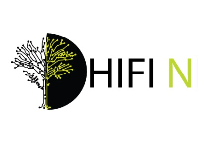 hifi network illustrator logo design