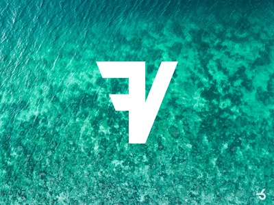 Logo design for FV - Future Vacations