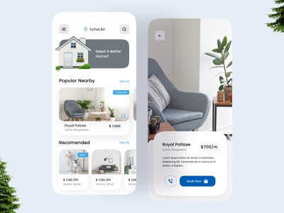 Real Estate app ofspace agency dribbble invite dribbble best shot real estate agency real estate agent real estate logo illustration brand identity brand design house industries house illustration mobile app design app design houses realestate