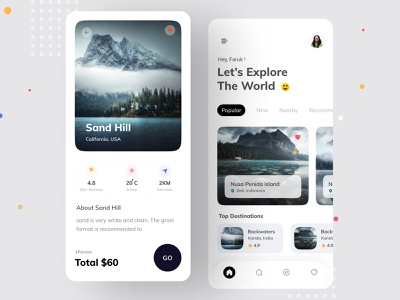 Travel app clean design booking app uxdesign uidesign mobile app mobile ui app vacation rental vacation trip planner trip traveling tourist tourism tours travel app travel