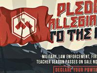 Powder Mountain propaganda poster 2