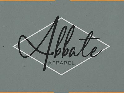 Abbate Apparel graphic design branding logo