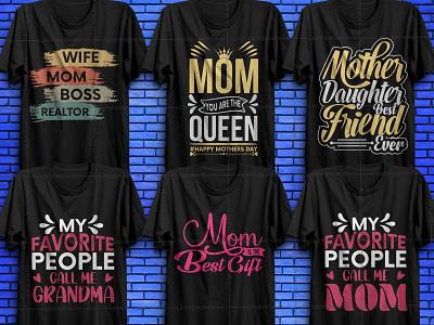 Mother's Day T-shirt Bundle v3 pod tees merch by amazon shirts tshirt tshirt design mom  day mom  day vector elements mothership mothersday mothers mother day mothers day shirt design vector shirt design vector