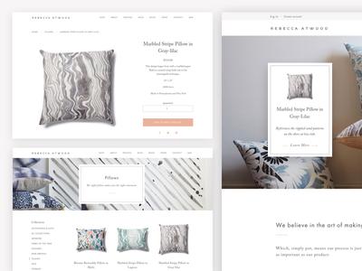 Rebecca Atwood E-Commerce Site