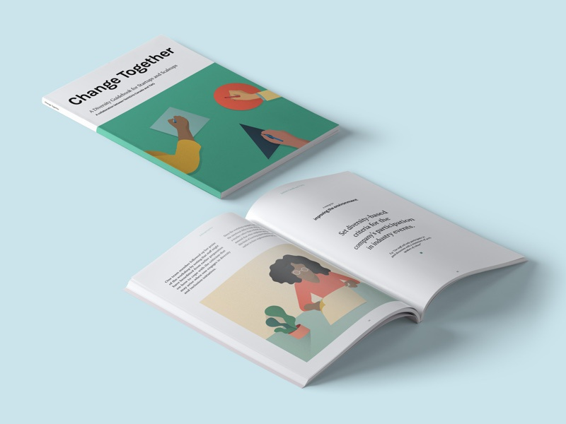 #ChangeTogether: A Diversity Guidebook for Startups and Scaleups womenintech freebie book changetheratio diversityintech techbooks diversity