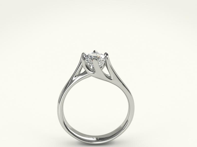 Wedding ring with white gold zbrush pixlogic zbrush rhinoceros illustration design