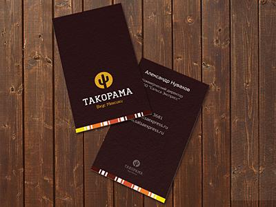 Tacorama business card tacorama business card