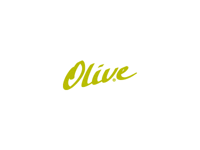Olive olive callygraphy green type