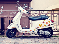 """alfika"" scooter"