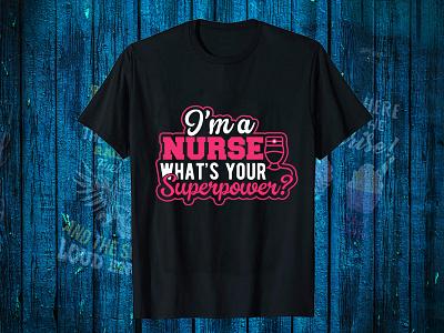 I'MA Nurse T Shirt Design teacher t shirt medico black t-shirt design for girls t-shirt design website logo designer shirt