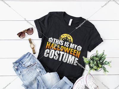 This Is My Halloween Costume halloween shirt halloween t-shirt design halloween design halloween t shirt halloween vector motion graphics design graphic design branding black t-shirt design for girls t-shirt design website logo