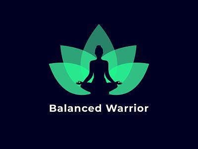 Yoga logo app mobile print minimal helath yoga logo identity brand colorful simple design logo abstract branding illustration vector lotus meditation yoga flower
