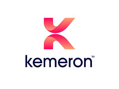 K letter logo logo k k logo k letter logo modern k logo letter letter logo modern letter modern letter logo lettermark app icon illustration abstract simple gradient startup brand identity branding graphic design