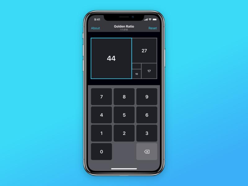 Ratio Pro - Golden Ratio Calculator for UI/UX Designers iphone ipad ios goldenratio design app ux ui