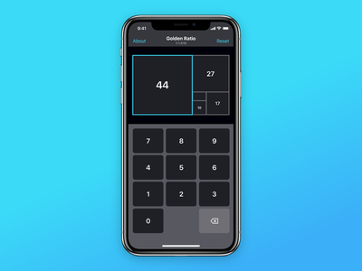 Ratio Pro - Golden Ratio Calculator for UI/UX Designers iphone ipad ios goldenratio design app ux ui