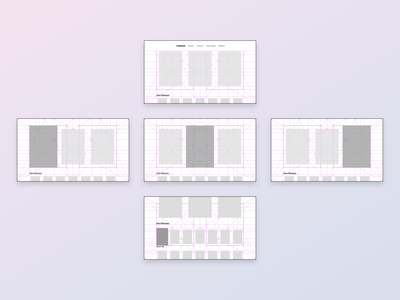 TV Grid Play app grid layout tvos appletv ios ux ui