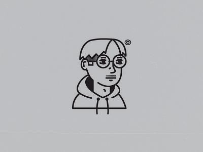 self portrait anime logos self portrait character design illustration
