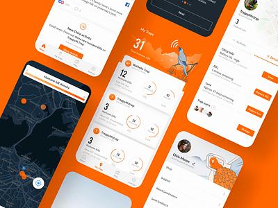 Goodnature Chirp iot product design design interaction branding ui design user experience