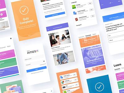 myAMES Experience user experience ux mobile app ux product design branding ui ux design interaction design ui design
