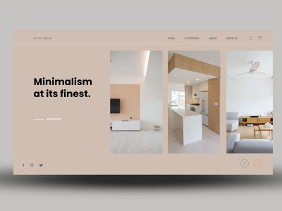 Minimalist at its finiest ux website branding ui web minimal design