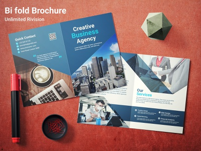 Bi fold Business Brochure business brochure graphic design brochure design brand identity bi-fold booklet bi fold business brochure bifold brochure templete bifold brochure design