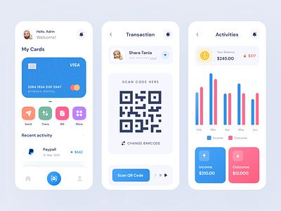 Gapay-Finance Mobile App financial financial app finance app design app mobile app design clean mobile app uiux mobile ui ux app ui design