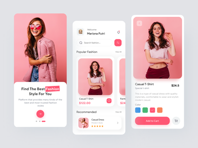 Likjid - Fashion Mobile App shopping app shopping awesome ux  ui uxdesign ui  ux clothes clothing design fashion app pink design app ui design clean uidesign mobile ui uiux ux app design ui