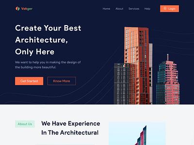 Vokger-Architecture Agency Website