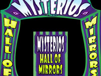 Mystero 02 photoshop video game art typography illustration design