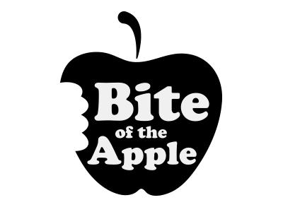 Bite of Big Apple - Spiderman In-Game Signs vector logo video game art typography design