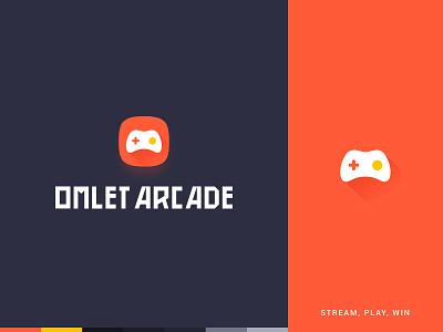 Omlet Arcade Logo app logo stream game