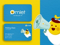 Business Card - Omlet Chat