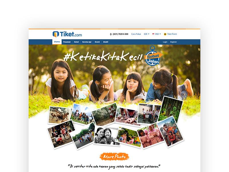 Sobat Jalan | Tiket.com | HTML/CSS