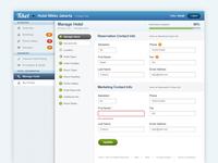 Tiket.com Manage Hotel Dashboard